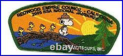 Redwood Empire Council JSP set- 4 patches incl Order of the Arrow- 2005 Jamboree