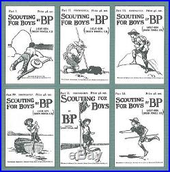 SCOUTS OF MALAYSIA SCOUTING FOR BOY BY BADEN POWELL Souvenir Scout Patch SET