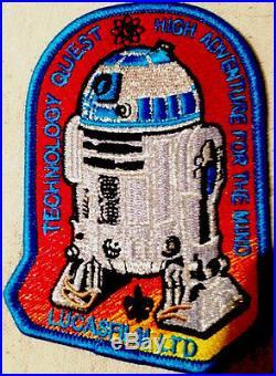 STAR WARS 2013 Boy Scout Jamboree Technology Quest MARIN R2-D2 Patch FEW MADE