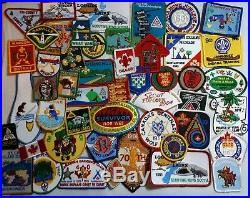 Scouts Canada Mixed Lot Of 250 Badges Patches Events Apple Day District Area