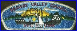 Seaway Valley Council shoulder patch or CSP s-1 1ST ISSUE Canton New York MERGED