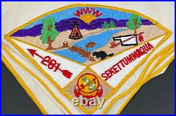 Sekettummaqua Lodge #281 Pie Patch on Neckerchief
