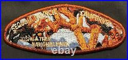 Sequoia Council Oa Tah Heetch 195 2017 Jamboree Bsa Centennial 9-patch 100 Made