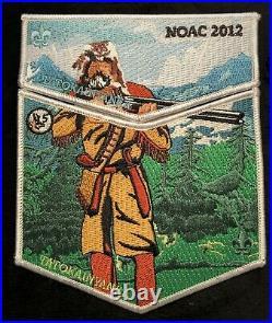 Tatokainyanka Oa Lodge 356 Bsa Central Wyoming Council Noac 2012 Hunter 2-patch