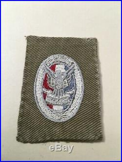 Type 1c Eagle Patch Very Good Condition