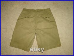 VINTAGE BOY SCOUTS OF AMERICA patches uniform BSA Short pant w 32