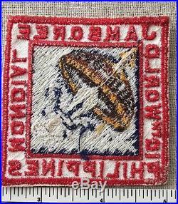 VTG 1959 10th WORLD JAMBOREE Boy Scout Participant PATCH Philippines Mondial PP