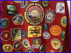 VTG BSA jacket patches Den Leader Bay Area Hiking Rim Of The Bay Hipster AO MOD