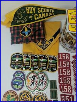 VTG Boy Scout BSA Patch Lot KISHWAUKEE Dist. Blackhawk Council Eagle Scout RWS
