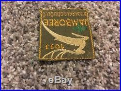 Vintage 1933 JAMBOREE BUDAPEST Boy Scouts Patch