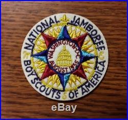 Vintage 1935 Boy Scout National Jamboree Patch Original No Repro