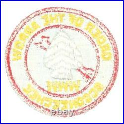 Vintage 1950s R4 Occoneechee Lodge 104 Patch OA Boy Scouts BSA NC