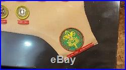 Vintage 1960s BSA Boy SCOUT PATCH Collection Eagle Scout Master Merit Badges
