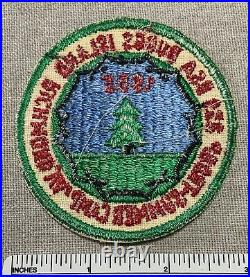 Vintage 1965 BUGGS ISLAND Boy Scout Summer Camp PATCH Richmond VA BSA Troop 859