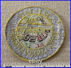 Vintage 1977 CAMP NO-BE-BO-SCO 50th Boy Scout Badge PATCH Bergen Council BSA NJ