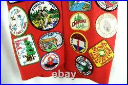 Vintage BSA Boy Scouts 32 Patch & 8 Medal Lot Pokagon Salamonie Indiana Trail