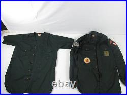 Vintage BSA Explorer Scout Shirt 1950 Jamboree Patch Boy Scouts of America Lot