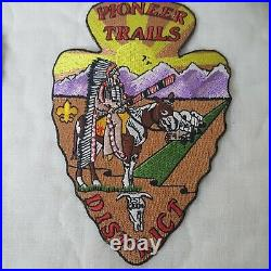 Vintage Boy Scout Lot of 50+ Patches Badges New and Used Assortment