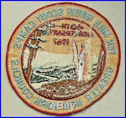 Vintage Boy Scout Patch-Ten Mile River Scout Camps 40th Anniversary 1967
