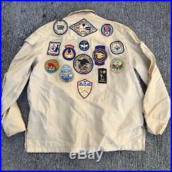 Vintage Boy Scouts Recruiter Jacket Patches 1960s Design Inspiration 60s