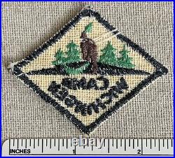 Vintage CAMP WICHINGEN Boy Scout HAT DIAMOND PATCH BSA Scouts Camper Uniform