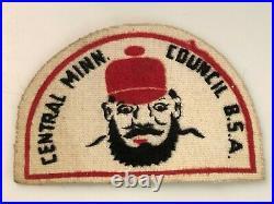 Vintage Central Minnesota Canvas Council Patch CP