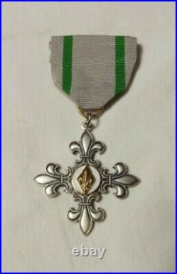 Vintage Latvia Boy Scout patch lot / medal / pre WWII & diaspora badges