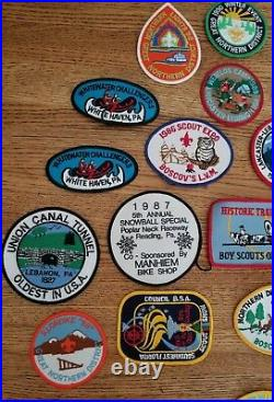 Vintage Lot of Boy Scout Patches and Pins