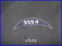 Vintage Mid 1930s Sea Scouts National Jamboree Ship Patch