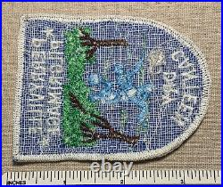 Vintage PERRYVILLE PILGRIMAGE Dry Canteen Boy Scout Trail PATCH BSA Camp Hike