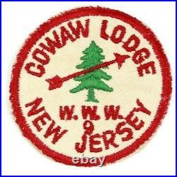 Vintage R1 Cowaw Lodge 9 Raritan Council Patch Boy Scouts BSA New Jersey