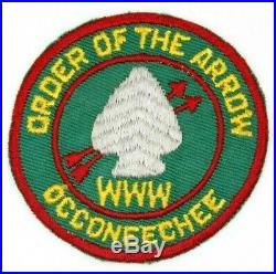 Vintage R4 Occoneechee Lodge 104 Patch 1950s OA Boy Scouts BSA NC