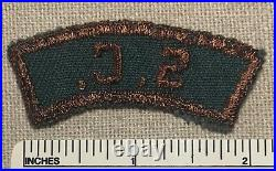 Vintage SOUTH CAROLINA Explorer Scout Green & Brown State Strip PATCH GBS S. C