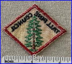 Vintage TALL PINE COUNCIL Boy Scout Hat Diamond PATCH BSA Michigan Camp CP