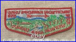 Vintage WACHTSCHU MAWACHPO OA Lodge 559 Order of the Arrow Flap PATCH Boy Scout