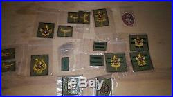 Vintage boy scout lot patches, mugs, uniforms, magazines, story books, misc. Item