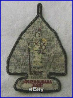 Vintage-unique-rare-amaquonsippi Squaw Patch-national Jamboree-eagle-oa-noac