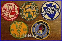 Vtg 160 Cub Boy Scouts Badge Patch Pin Lot BSA Rank Uniform 1950's 1960's 1970's