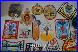 WWW Order of the Arrow Mixed Patch Lot Boy Scout BSA