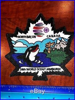 Wild Canadians 9 Set Contingent Patch Badge 2019 24th World Boy Scout Jamboree