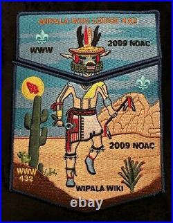 Wipala Wiki Oa Lodge 432 Bsa Grand Canyon Council Flap 2009 Noac Rare 2-patch