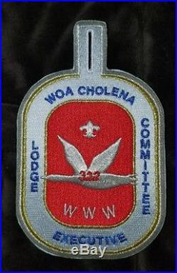 Woa Cholena 322 X- Lodge Executive Committee patch