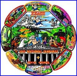 Yucca Council Oa 378 Gila Tx 2013 Boy Scout Jamboree 9-patch Greek Mythology Set
